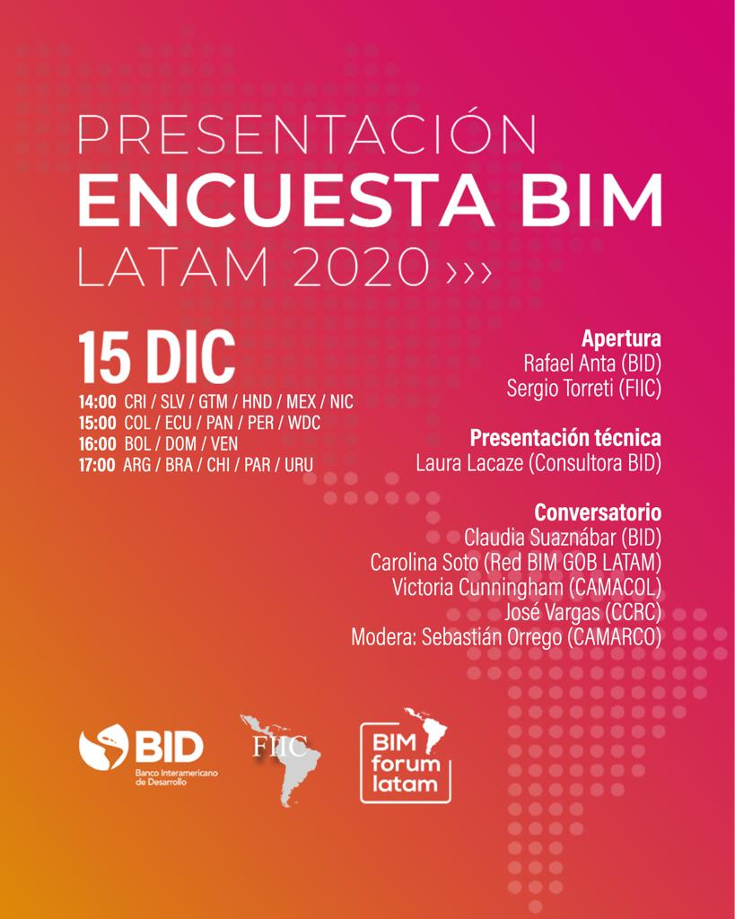 Presentación Encuesta BIM Latam 2020