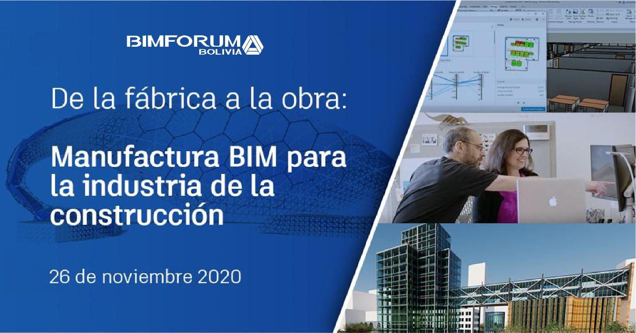 Webinar: Manufactura BIM para la Industria de la Construcción