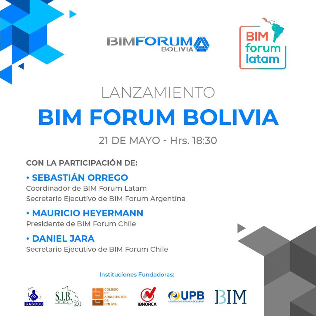 Lanzamiento BIM Forum Bolivia
